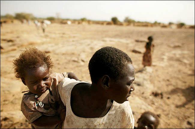 sudan refugiado miseria