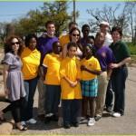 Angelina Jolie y Brad Pitt solidarios con los afectados del huracán Katrina