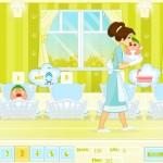 Cuidadora de bebés