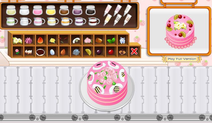 Juego de decorar tartas