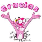 gracias pantera rosa
