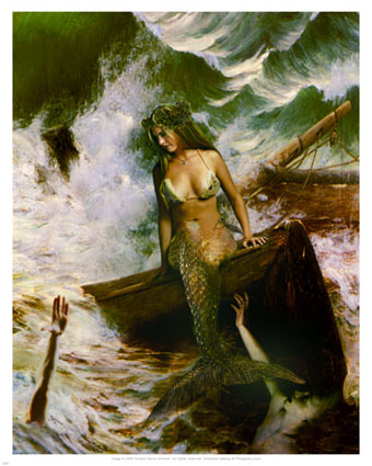 howard-david-johnson-the-mermaid-and-the-sailors-posters