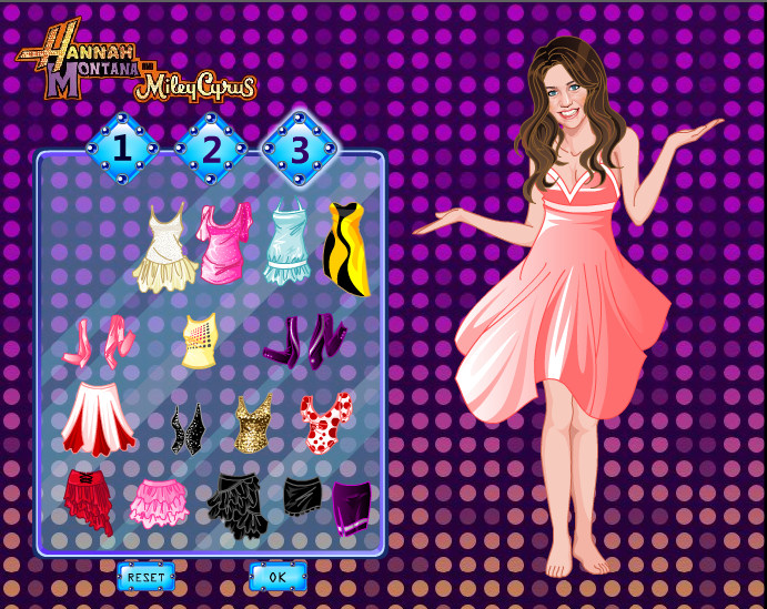 Vestir a Miley Cyrus de Hannah Montana