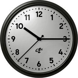 ¿Cómo se determinó el sentido de las agujas del reloj?