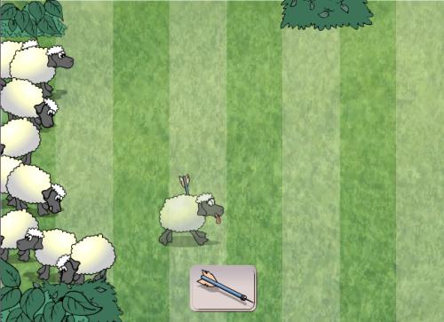 Juego: Tranquilizando ovejas