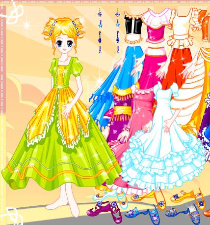 Vestir a la princesita Elena