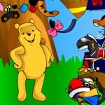 Vestir al osito Winnie The Pooh