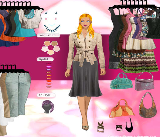 Barbie vestidos elegantes