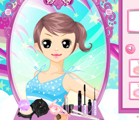 Chica maquilladora