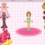 Juego para vestir a la muñeca bonita
