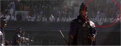gladiator errores fallos gazapos