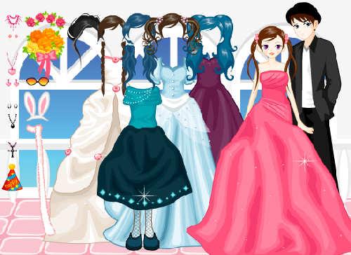 juegos-para-vestir-a-novias-pareja-1