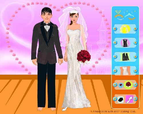 juegos-para-vestir-a-novias-pareja