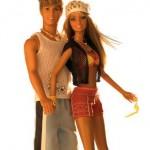 Vestir a Ken, el novio de Barbie