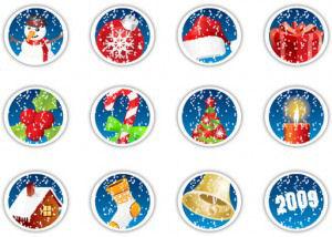 navidad-christmas-xmas-imagenes-iconos-circulos