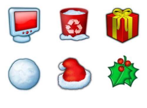 navidad-christmas-xmas-imagenes-iconos-paquete
