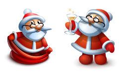 navidad-christmas-xmas-imagenes-iconos-santa