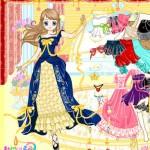 Vestir a la pequeña Cenicienta