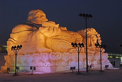 ville harbin-esculturas hielo