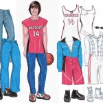 Juego para vestir a Zac Efron de High School Musical (HSM)