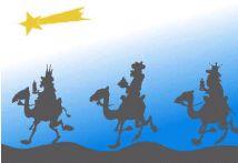 reyes camellos magos