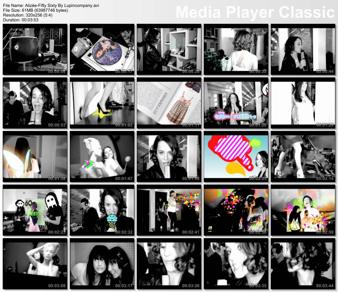 alizee-fifty-sixty-video