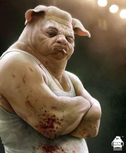 hombre-cerdo