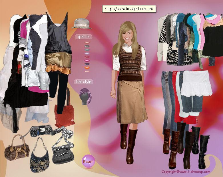 juego-dress-up-ashley-tisdale-sharpay-evans-hsm-high-school-music-disney-vestir