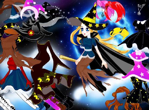 juego-juegos-vestir-dress-up-bruja-brujita-maga-fantasia