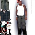Juego de vestir al rapero de 50 Cent