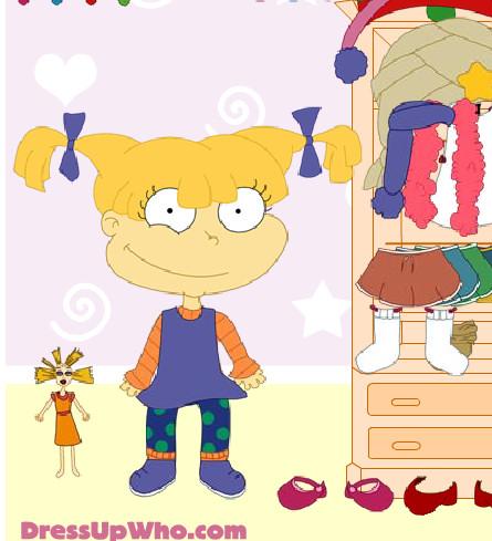 Vestir a Angelica de Rugrats