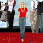 Juego de vestir a la hermosa Avril Lavigne