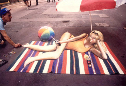 julian-beever-tiza-girl-on-mat