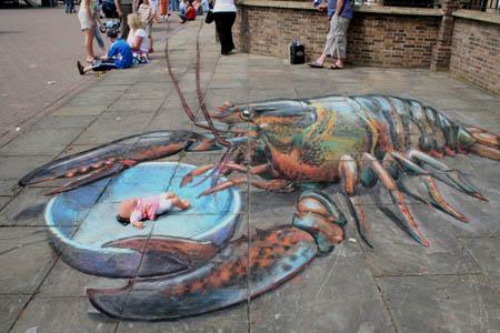 julian-beever-tiza-lobster2
