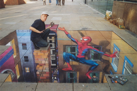 julian-beever-tiza-spiderman