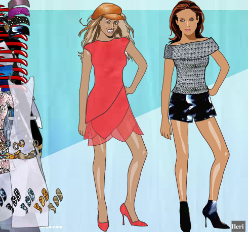 Vestir a Beyonce y Jennifer Lopez