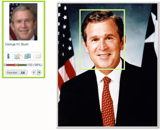 face-bush