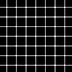 Ilusiones ópticas: blanco sobre negro