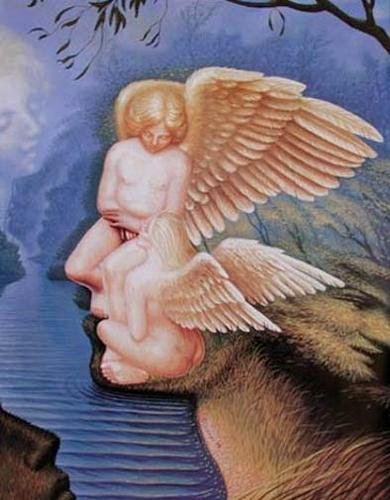 ilusiones-pareja-angeles-perfil-mujer