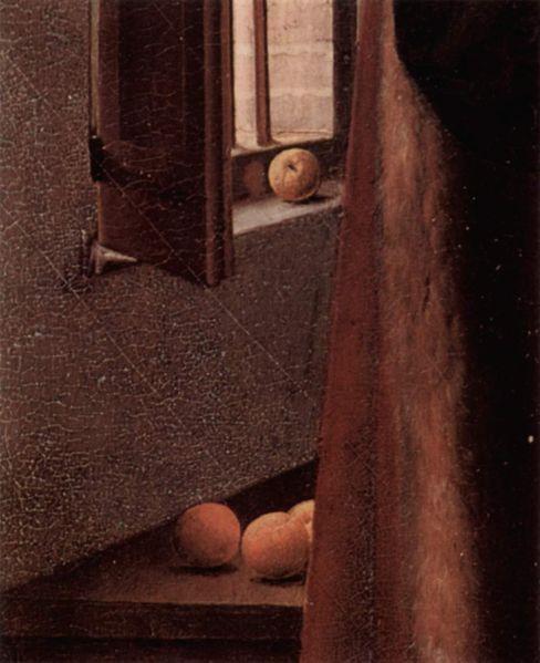 arnolfini-matrimonio-frutas-naranjas
