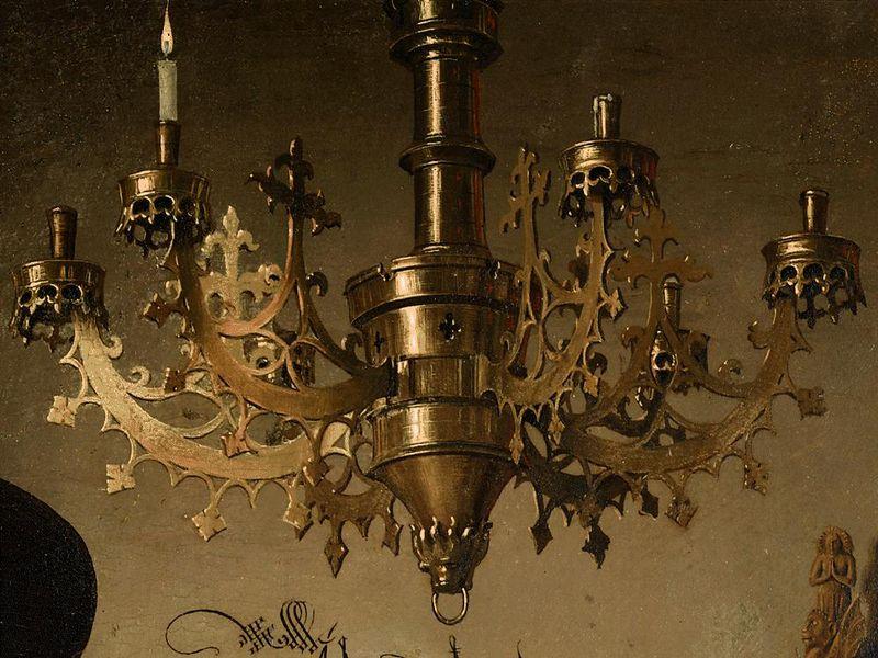 arnolfini-matrimonio-lampara