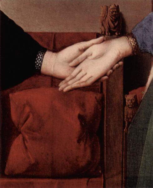 arnolfini-matrimonio-mano