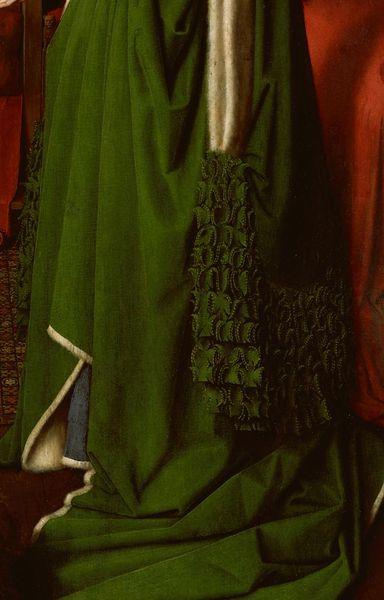 arnolfini-matrimonio-vestido