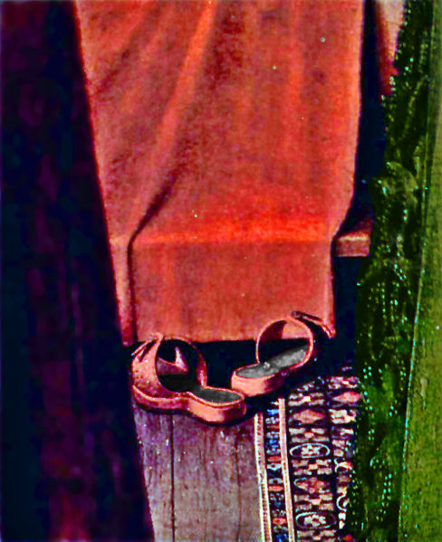 arnolfini-matrimonio-zapatos-alfombra