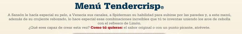 menu tendercrisp