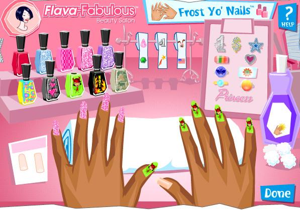 Nail Flava Fabulous Beauty Salon: Salón de manicura