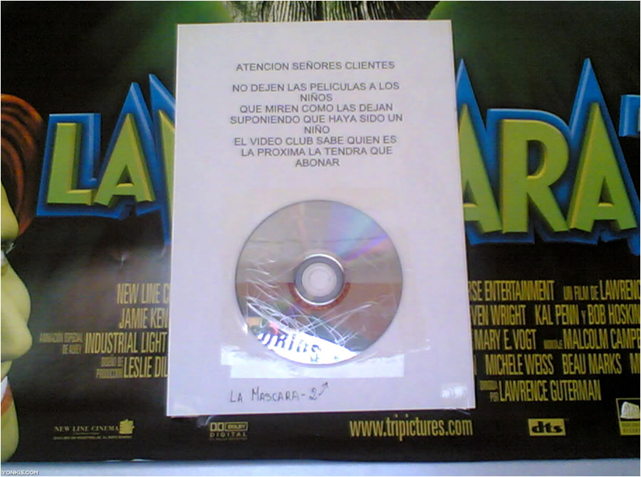 cartel-mascara-dvd-videoclub