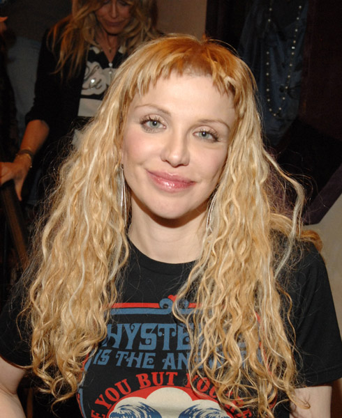Courtney Love Hysteric Glamour Party