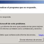 Enviar informes de error a Microsoft