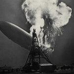 El ocaso del Hindenburg en llamas